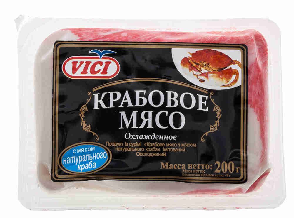 Крабовое мясо «ВИЧИ»